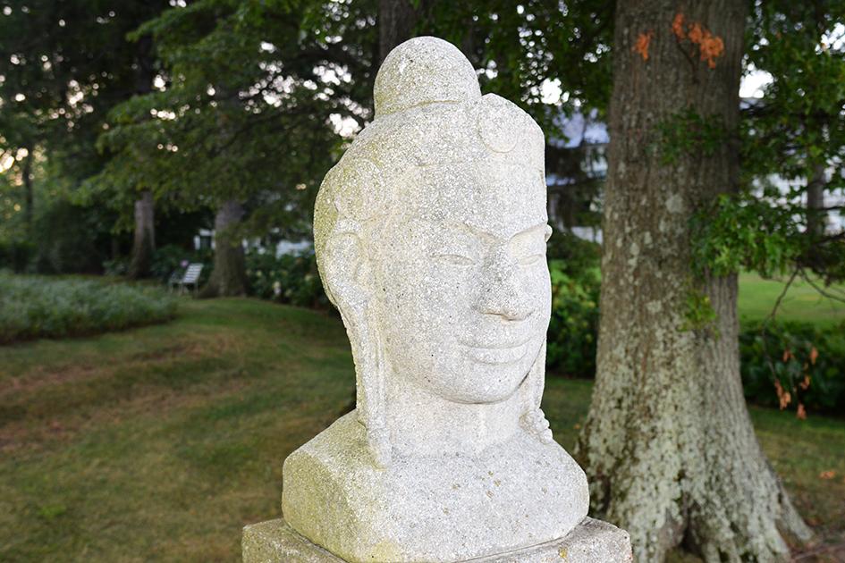 Statue at Wainwright House in Rye, NY