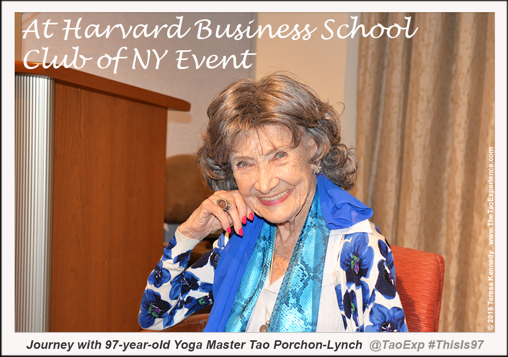 TaoPorchonLynch_Postcard_HarvardBusinessSchoolClubNYEvent_September302015_PowerLiving_TeresaKennedyFJ