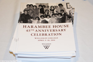 Wellesley College Harambee House 45th Anniversary-April 9, 2016