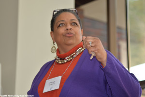 Pamm McNeil at Wellesley College Harambee House 45th Anniversary-April 9, 2016