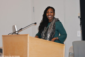 Assistant Dean Tracey Cameron, Wellesley College Harambee House 45th Anniversary-April 9, 2016