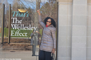 Teresa Kay-Aba Kennedy at Wellesley College for Harambee House 45th Anniversary-April 9, 2016