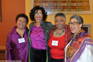 Sonia Robena Banks  with fellow alum, Haramabee House at Wellesley College - April 9, 2016