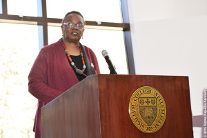 Rev. Renita J. Weems, Wellesley College '76, at Harambee House 45th Anniversary-April 10, 2016