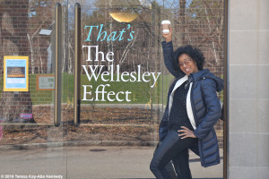 Sonia Robena Banks at Wellesley College for Harambee House 45th Anniversary-April 9, 2016