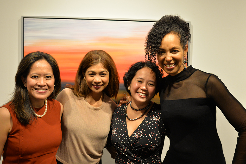Analisa Balares, Teresa Kay-Aba Kennedy and others at The Curator Gallery, May 3, 2016