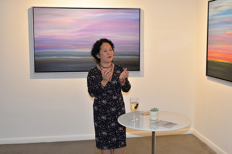 Analisa Balares at The Curator Gallery, May 3, 2016