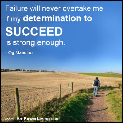 OgMandino_DeterminationToSucceed_PowerLivingFJ