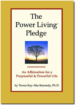 The Power Living Pledge