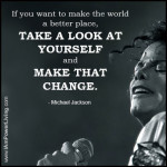 Michael Jackson Quote Card