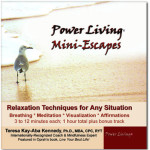 Power Living Mini-Escapes audio CD