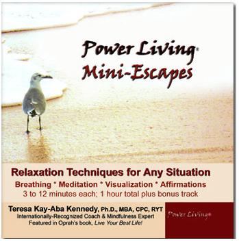 Power Living Mini-Escapes audio CD